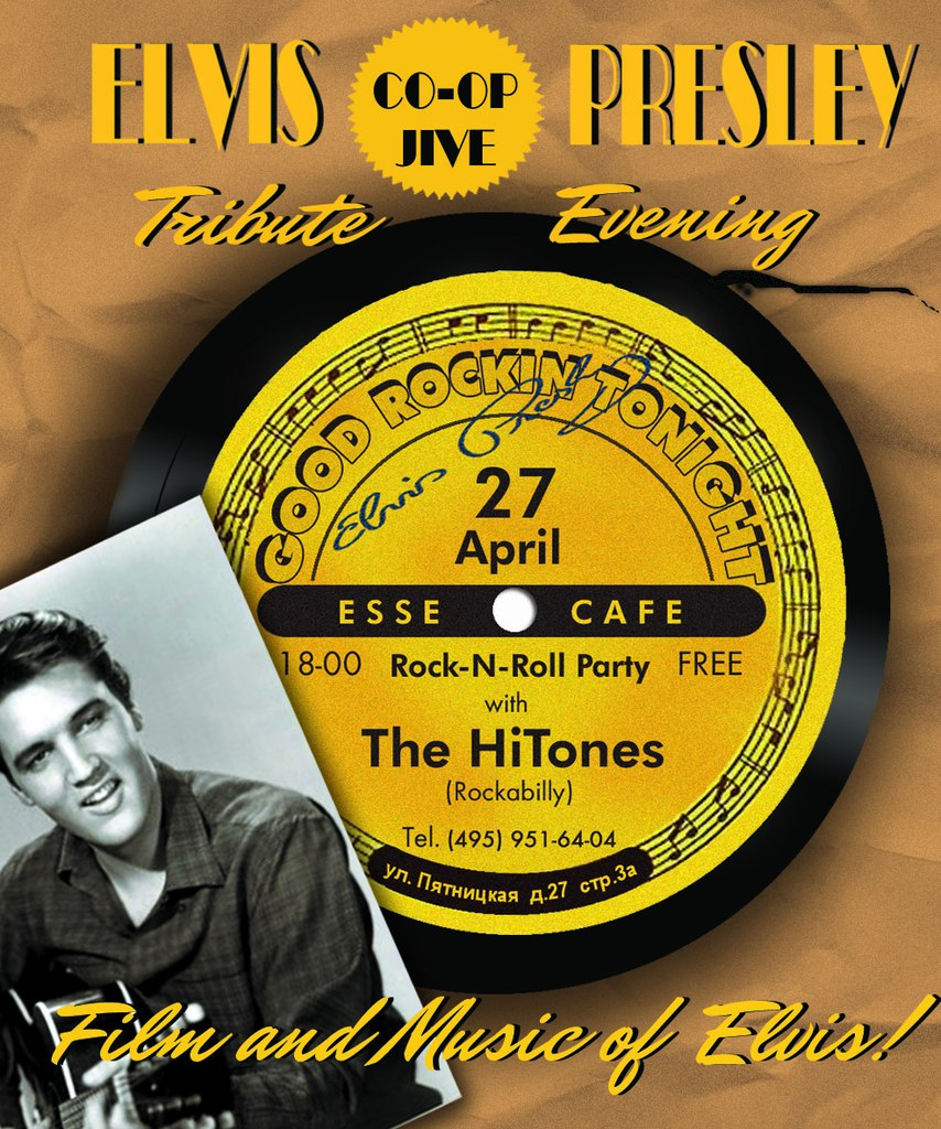 27.04 Elvis Presley Tribute Evening