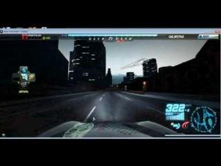 330 КМ/Ч на porsche 911 в NFS WORLD