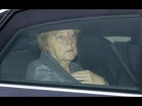 Merkel auf der Flucht? Schlägt Trump jetzt zu?