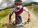 Bikepark Jasna - downhill track, reverse shot