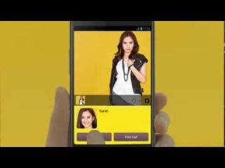 Sarah Geronimo for Kakao Talk FREE CHAT with Korea's Big Bang - TVC 2013