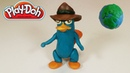 Disney's Perry the Platypus Making Video With Play Doh