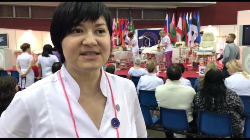 Интервью судьи Ольги Жиляевой Международный конкурс по косметологии Невские берега 2018 г