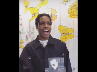 A$ap rocky has the power of smiling