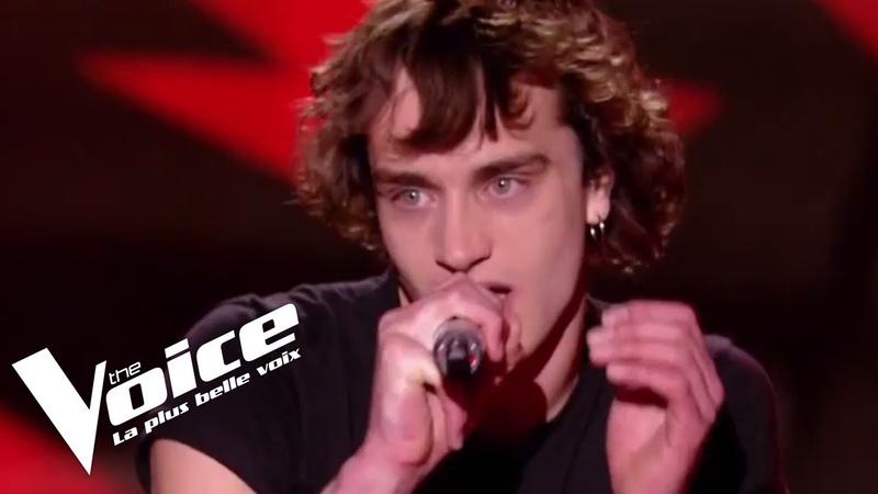 The Police - Roxanne | Xam Hurricane | The Voice France 2018 | Blind Audition
