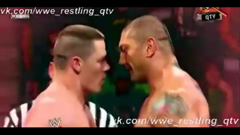 [WWE QTV]☆[Summer Slam[2008]Batista vs John Cena]Батіста про Джона Сіни]Батиста про Джона Сины]/vk.com/wwe_restling_qtv