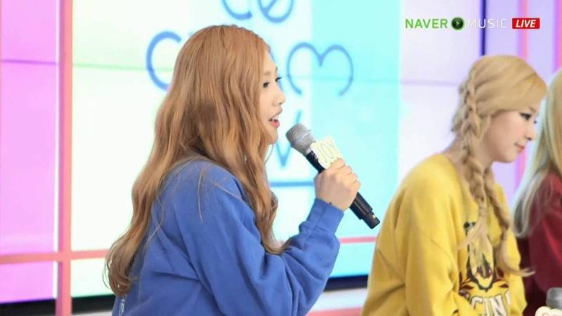 Red Velvet - Candy Live @150318 음악감상회 레드벨벳의 아이스크림TV