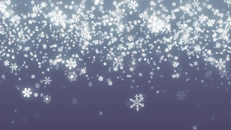 Новогодний HD футаж снегопад падающие снежинки New Year HD footage snow falling snowflakes onlin