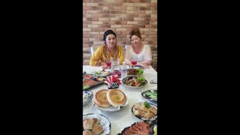 Кажетта Ахметжанова в Караван Баши