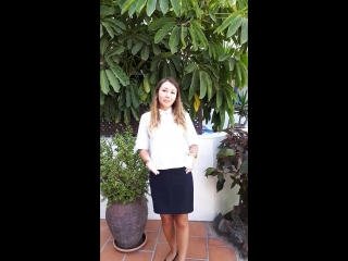 Anastasia tells us about her experience on the Canary islands.