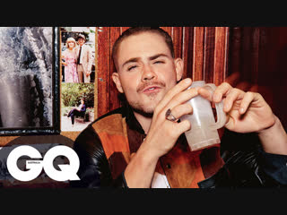 Go behind the scenes of our fashion shoot with dacre montgomery - gq