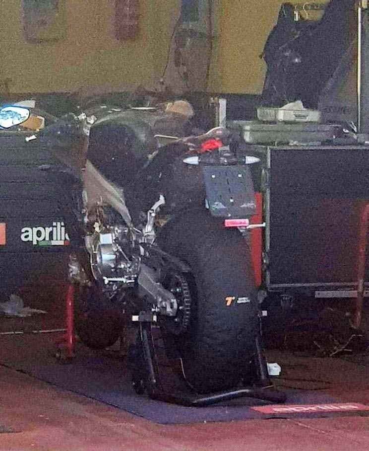 Шпионские фото Aprilia RS 660