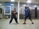 бьем в разрез боксерская тренировка