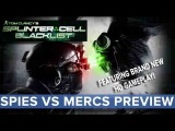 Splinter Cell: Blacklist - Spies vs Mercs Multiplayer Preview - Eurogamer