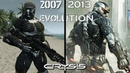 Evolution of Crysis Games 2007-2013 | Compilation Gameplay Games Series (Music Video)