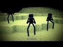 [Не моё]Minecraft клип опа эндермен (Parody Of - PSY GANGNAM STYLE)