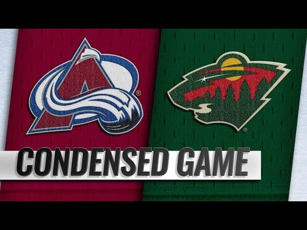 Colorado Avalanche vs Minnesota Wild – Sep.22, 2018 | Preseason | Game Highlights