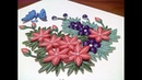 Quilling Flower Bouquet with Butterfly | DIY Quilling Bouquet and Quilling Butterfly