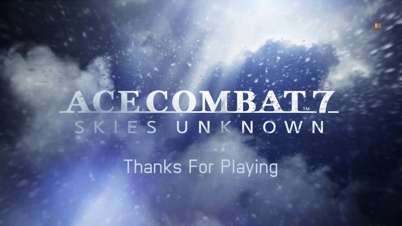 Ace Combat 7 Skies Unknown PS4 Gameplay Mission 7 Walkthrough also on Xbox One and PC