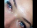 2d с цветными ресничками по внешнему уголку глаза 🌿