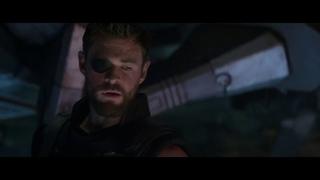 Мстители: Война бесконечности.Тор,Ракета и Грут отправляются на Нидавеллир