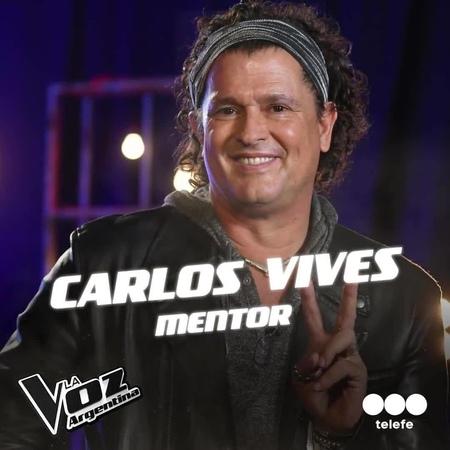 """La Voz Argentina on Instagram """"¡Mañana 21.30hs arrancan los knockouts y @carlosvives se suma a LaVozArgentina como mentor! 🎤✊ Descubrí de qué se ..."""