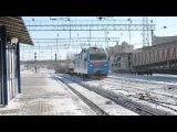 ЭП1М-441 С платформами для снега