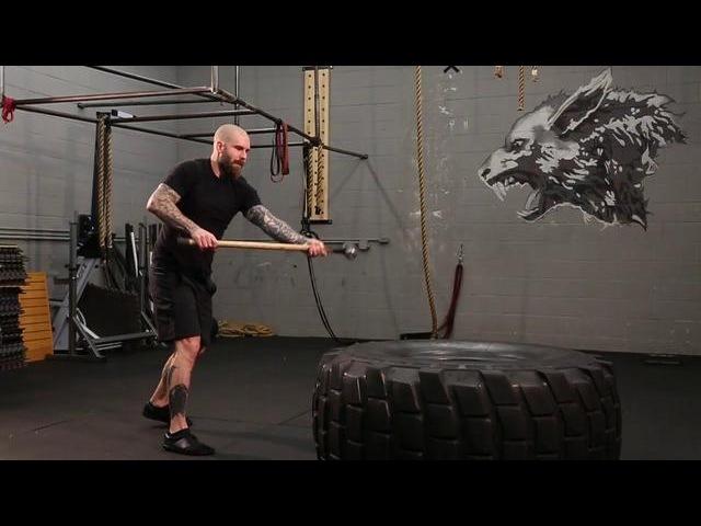 Wolf Brigade - Hand-To-Hand Tire Smash