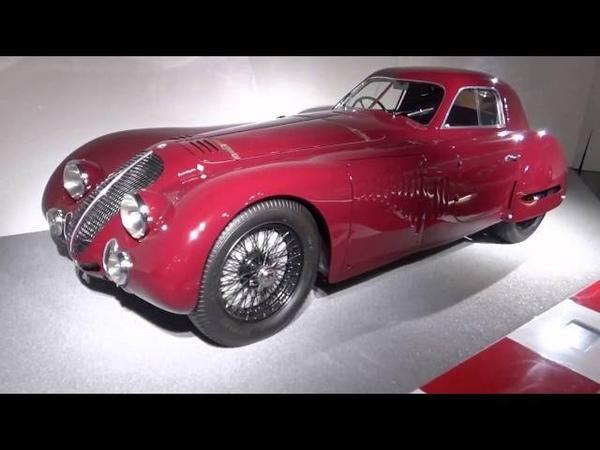 Alfa Romeo 8c 2900 B Speciale Le Mans, Alfa Romeo Museum, Arese, Lombardy, Italy, Europe