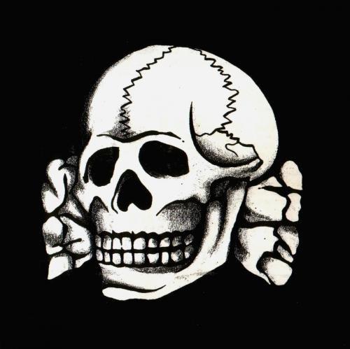 Сс череп с костями монета 1722