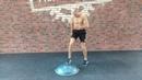 Бокс. Тренировка ног. Развиваем координацию и скорость. Упражнение на балансировочной платформе. ,jrc. nhtybhjdrf yju. hfpdbdft