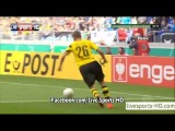 Goal Henrik Mkhitaryan  Stuttgarter Kickers 0-1 Borussia Dortmund