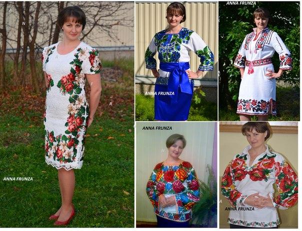 вишиванки жіночі плаття хрестиком b0d6ae5112ccb