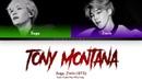 AGUST D | SUGA (ft. Jimin - BTS) - TONY MONTANA (Color Coded Lyrics/Eng/Rom/Han)