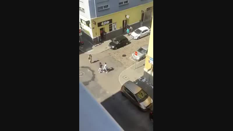 Mannheimer Ghetto Alltag
