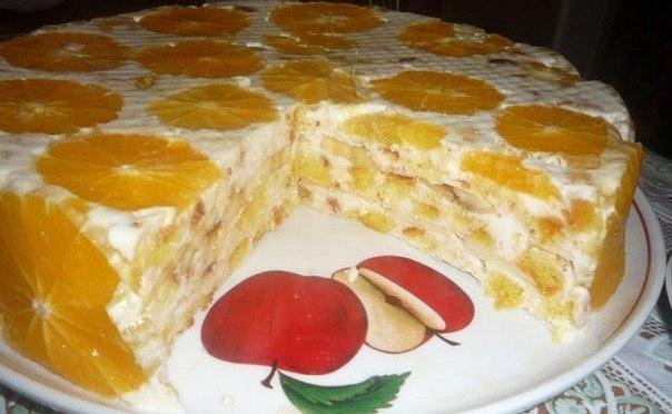 Торты без выпечки, вам непременно понравятся!