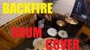 MOLLY Maksim Svoboda Backfire DrumCover by Slava Efimov