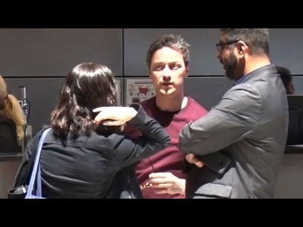 James McAvoy And Lisa Liberati Escape On A Romantic Trip