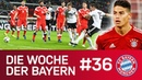 Länderspielpause nach dem Klassiker James Schock Die Woche der Bayern Ausgabe 36