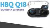 Truly Wireless HBQ Q18 Bluetooth Earphone 650mAh Charger Box