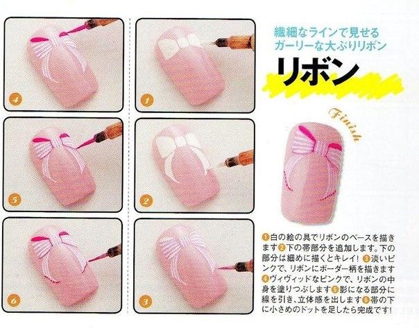 Пошаговые дизайн ногтей инструкции