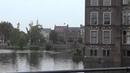 Здание Парламента Нидерландов и замок Риддерзаал в Гааге