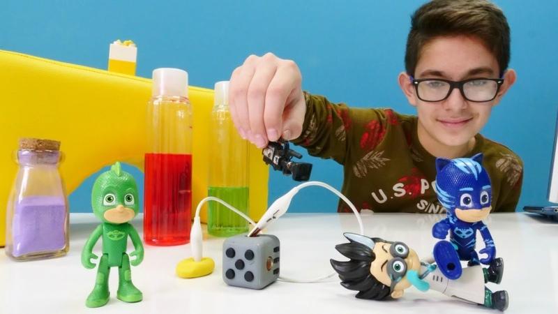 Çocuk videosu PJ Maskeliler kamera sistemini kuruyorlar