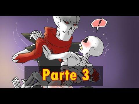 Papyrus Domination ( Fellcest comic ) - Parte 3