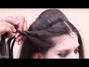 Indian traditional hairstyles for wedding Bridal Hairstyles Wedding Hairstyles Step By Step