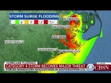 Hurricane Florence Terrifying storm could be upgraded to Category 5 before landfall