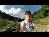 VLOG #2 - Партизанская Поляна. Ехали по реке, приехали в горы.