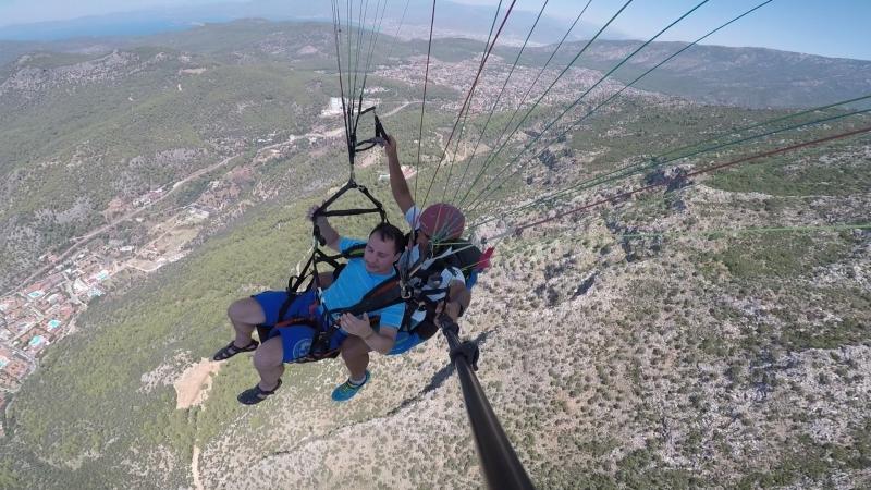 Параглайдинг с горы Бабадак (Турция) - Восхитительно! (Видео 2)