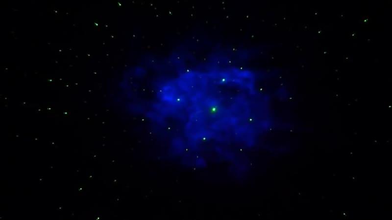Ночник_проектор_светильник_звёзд