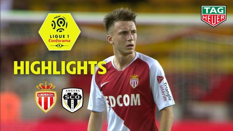 AS Monaco - Angers SCO ( 0-1 ) - Highlights - (ASM - SCO) / 2018-19